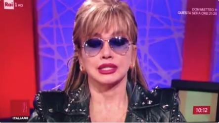 Milly Carlucci a Storie italiane