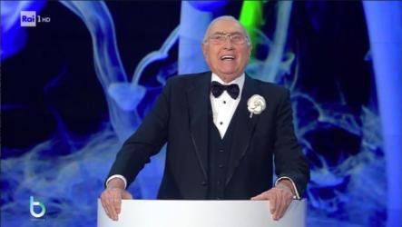 Pippo Baudo seconda serata Sanremo copy