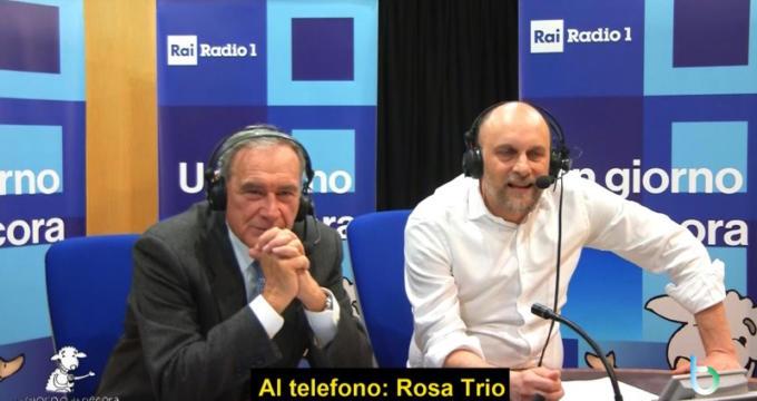 Rosa Trio intervista Un giorno da pecora copy