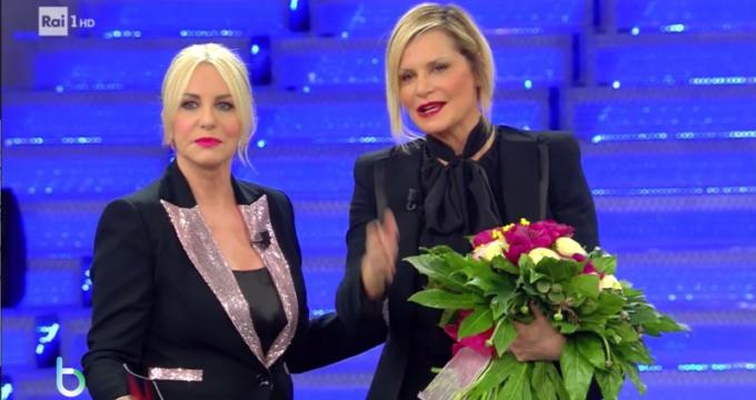 Simona Ventura a Sanremo Young copy