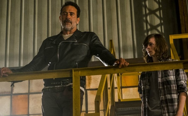 The Walking Dead: Jeffrey Dean Morgan saluta Chandler Riggs con un messaggio