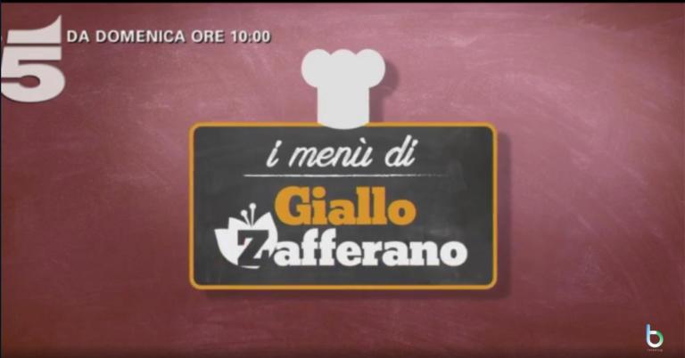 """""""I menù di Giallo Zafferano"""", Cristina Chiabotto e Davide Scabin nel mattino domenicale di Canale 5"""