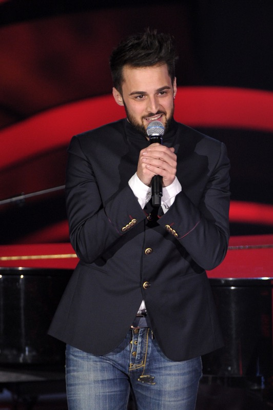 The voice of Italy seconda Blind Audition
