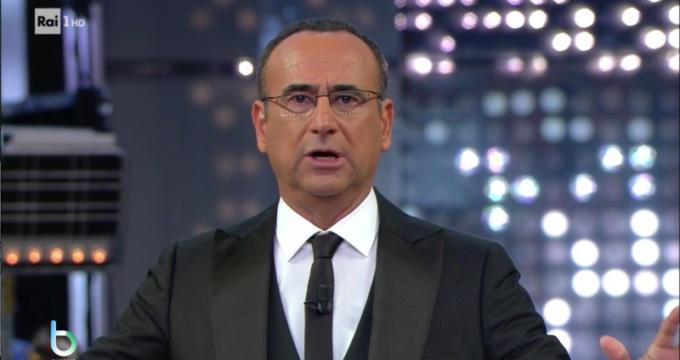 Carlo Conti in La corrida copy