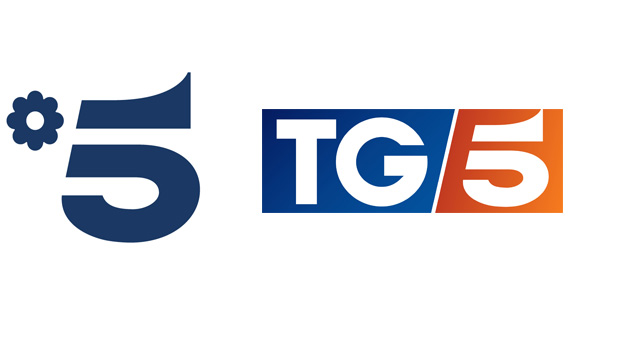 Loghi Canale 5 e Tg5