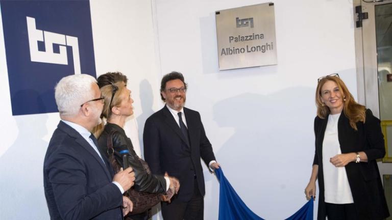 Albino Longhi, intitolata al famoso giornalista la palazzina del Tg1