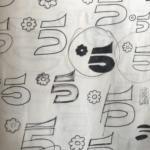 Schizzi logo canale 5