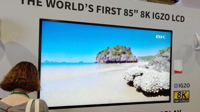 Tv Sharp 8K, debutta anche in Italia il super televisore