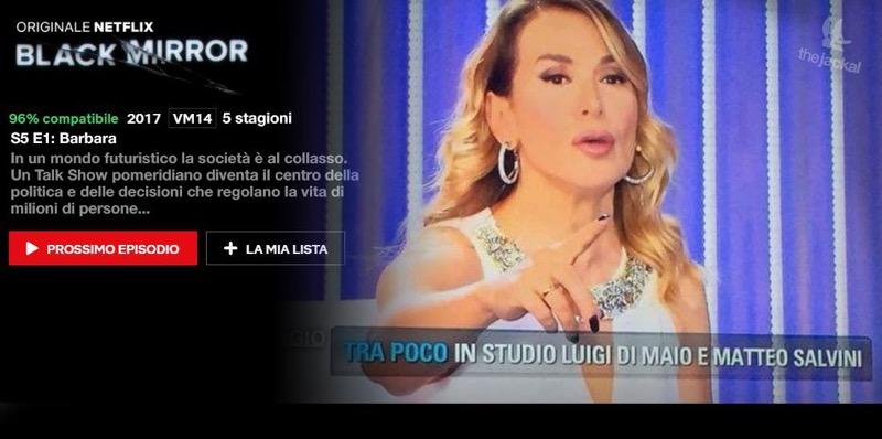 Crisi politica e Barbara D'Urso: il futuro distopico dei Jackal è già qui