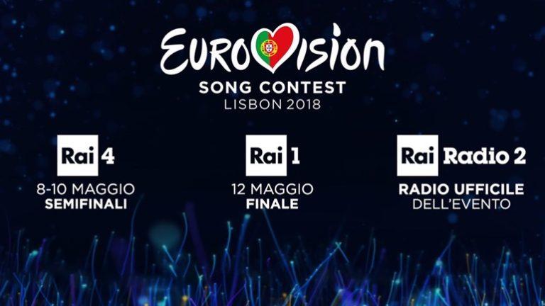Eurovision song contest, Lisbona 2018: finalissima il 12 maggio su Rai Uno