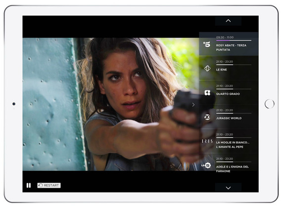 Mediaset Play, debutta oggi la app per smart tv, iOS e Android