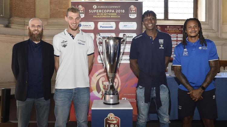 Basket, in esclusiva su Eurosport la Supercoppa italiana