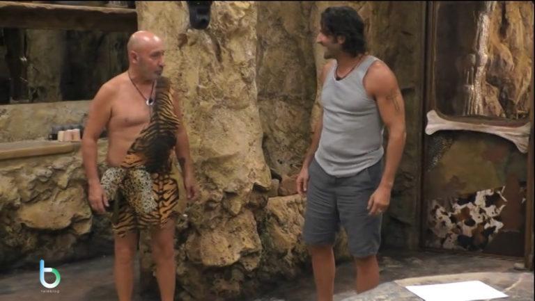 Grande fratello Vip 3, i primi concorrenti entrati in Caverna [Video]