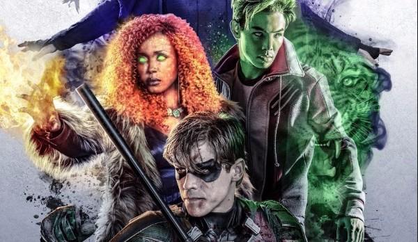 Titans: il primo poster ufficiale e una clip con Beast Boy