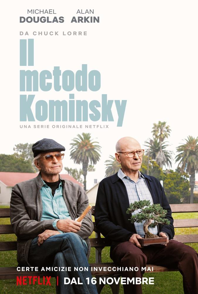 Il metodo Kominsky, la nuova comedy di Chuck Lorre con Micheal Douglas e Alan Arkin per Netflix