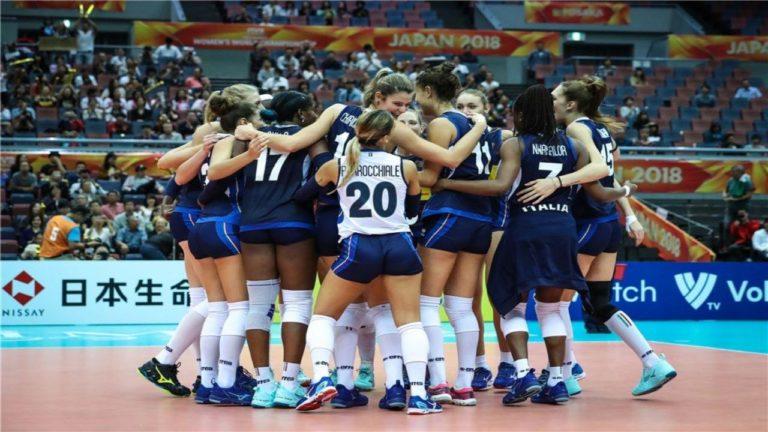 Italia-Cina, semifinale di volley su Rai due