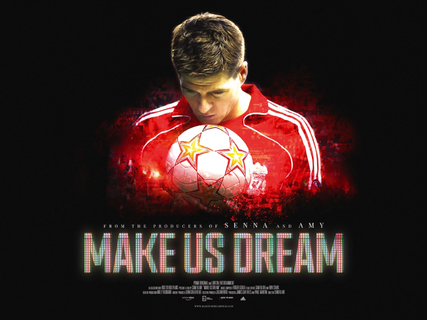 Make us dream Steven Gerrardpng