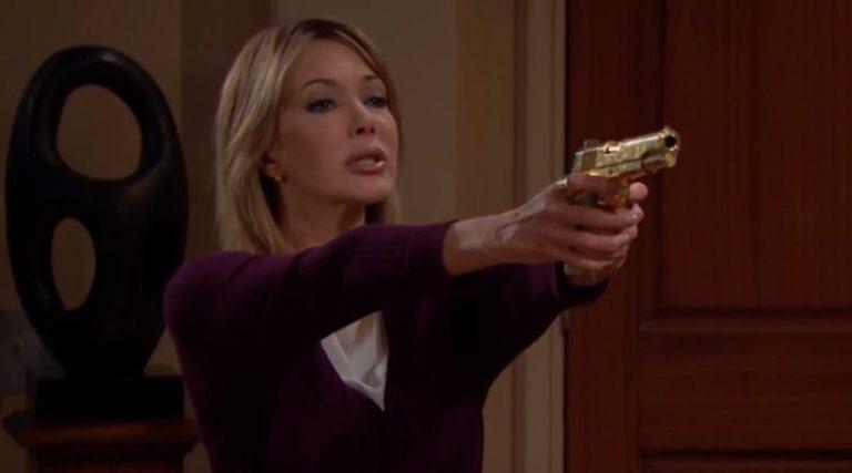 Beautiful, Taylor minaccia Bill con la pistola d'oro (puntata anticipazione)
