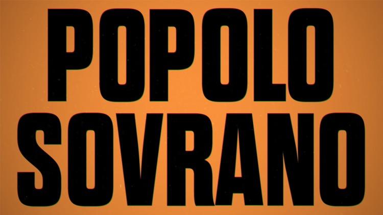 Popolo Sovrano, il nuovo programma di attualità del giovedi su Rai due
