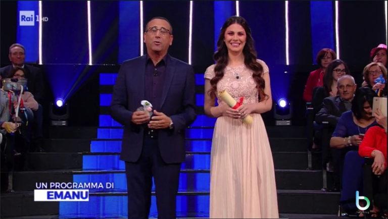 Ascolti tv 3 maggio: Ciao Darwin batte La Corrida su Rai Uno