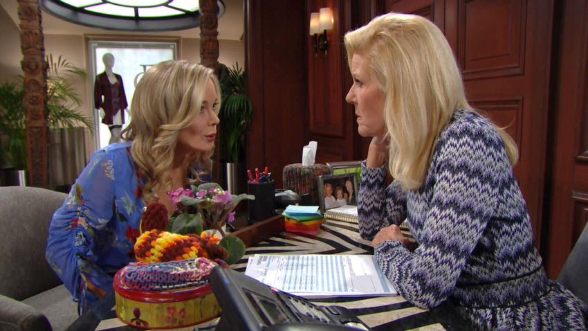 Beautiful, Pam e Donna alleate contro Quinn (puntata 2 ottobre)