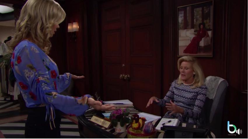 Beautiful, Pam minaccia Quinn (puntata 4 ottobre)