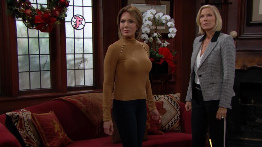 Reese minaccia Brooke per difendere Taylor
