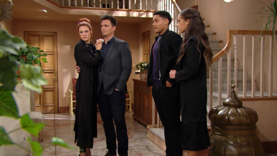 Beautiful, famiglia riunita per Hope (puntata 20 novembre)
