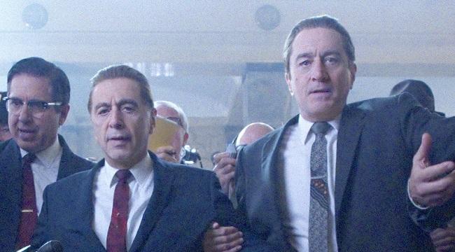 The Irishman: il primo trailer del film Netflix di Martin Scorsese