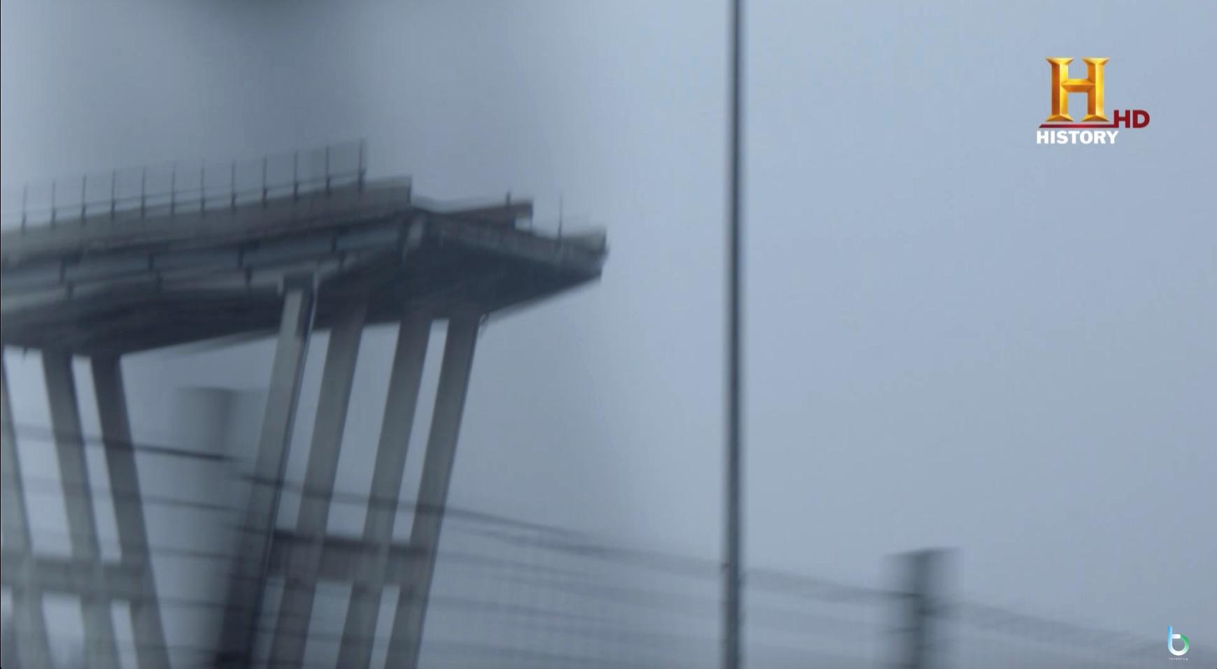 """""""Genova. Il ponte spezzato"""", per History Now lo speciale a un anno dalla tragedia"""