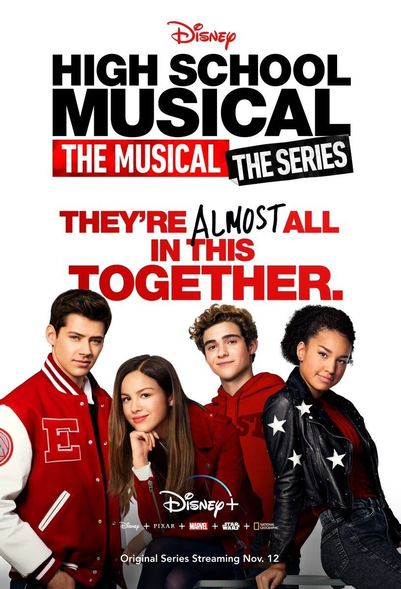 D23: il primo poster ufficiale di High School Musical: The Musical: The Series