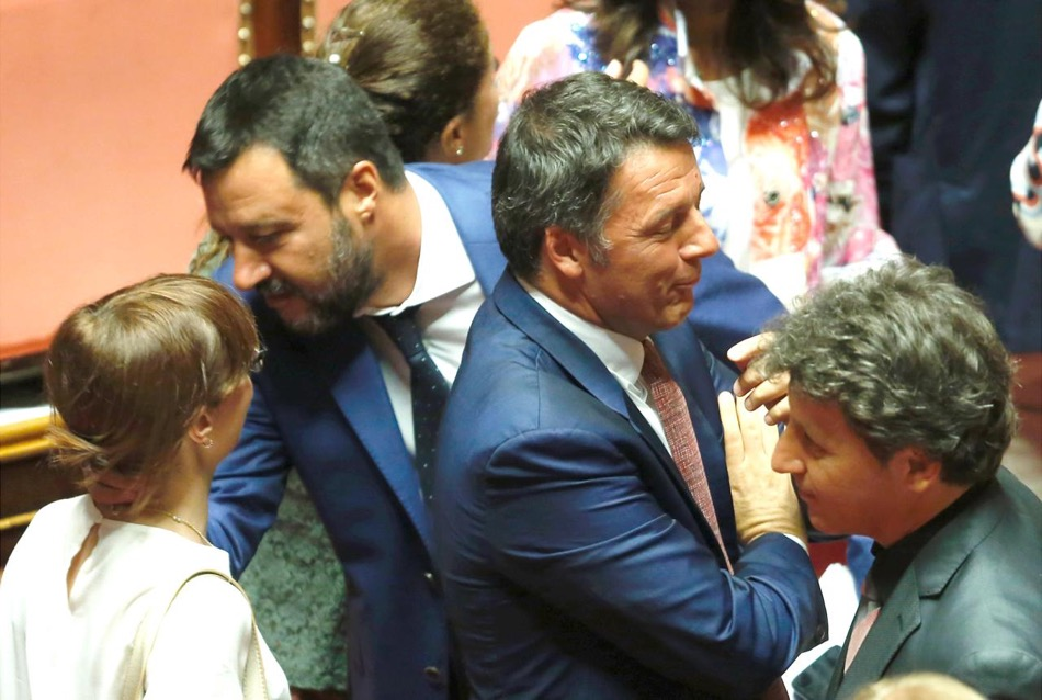 Matteo Renzi contro Matteo Salvini: il 15 ottobre la super sfida tv a Porta a porta