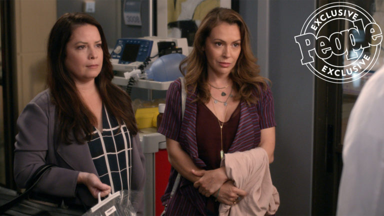 Grey's Anatomy 16: una reunion da Streghe con Alyssa Milano e Holly Marie Combs