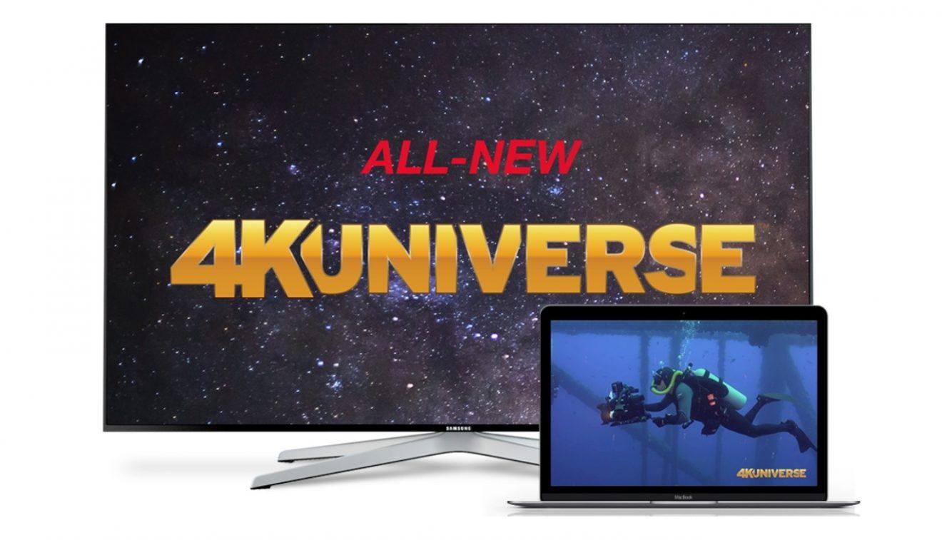4KUniverse, il canale con palinsesto in 4K arriva su Tivùsat
