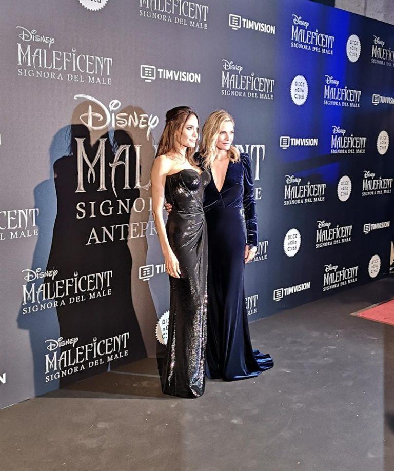 Maleficent 2, Angelina Jolie e Michelle Pfeiffer incantano Roma