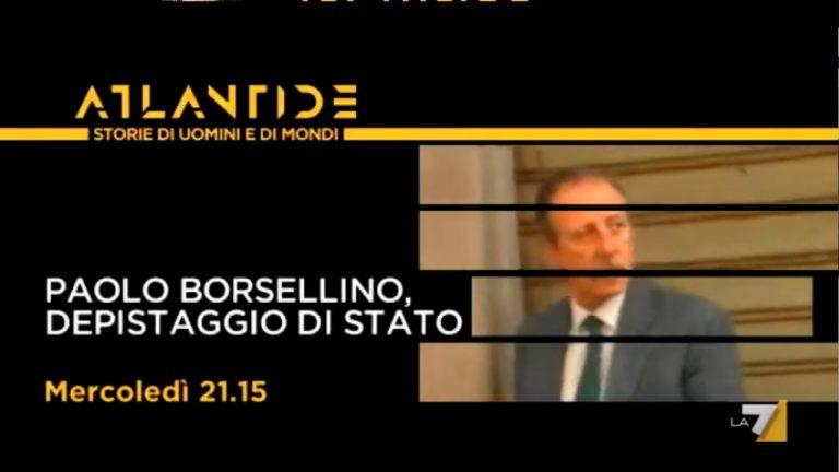 Atlantide di Andrea Purgatori: riparte con Paolo Borsellino – Depistaggio di Stato