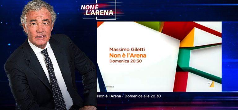 Non è L'Arena, ospite Paolo Bonolis: prosegue l'inchiesta sull'infanzia perduta