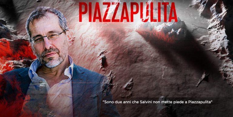 Gruber, Ricolfi e Cazzullo ospiti a Piazzapulita su La7
