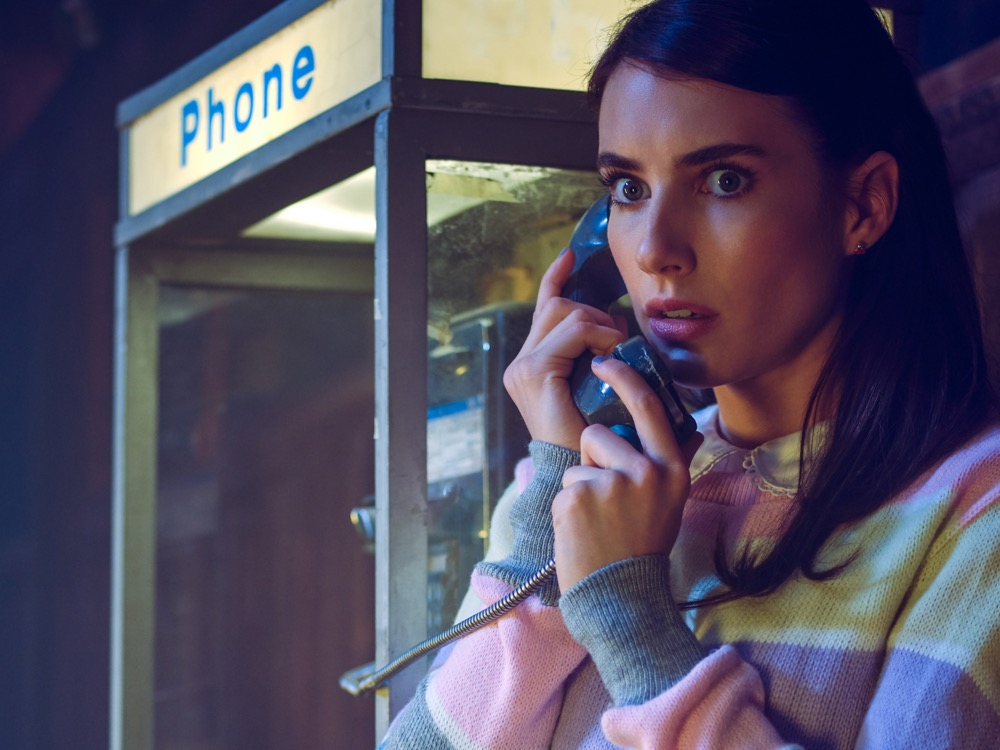 Emma Roberts in American horror story 1984
