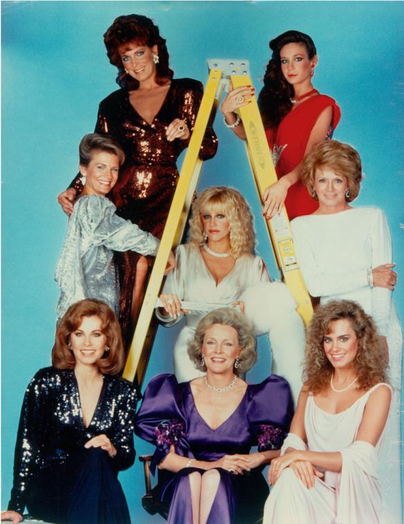 """""""Le signore di Hollywood"""", una miniserie soap in onda negli anni d'oro di Canale 5"""