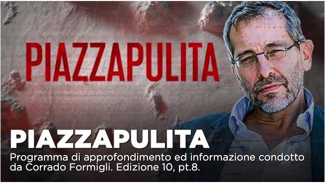 Piazzapulita, ospiti Giuseppe Provenzano e Licia Colò: inchiesta su Terra dei fuochi romana