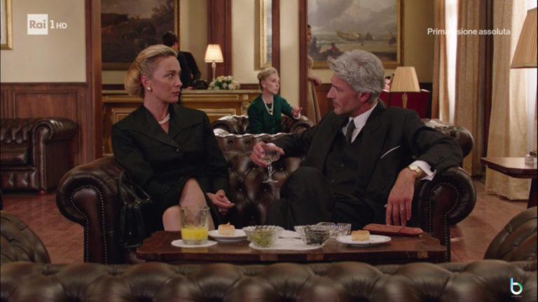 Il paradiso delle signore, Umberto seduce Flavia (puntata 13 novembre)