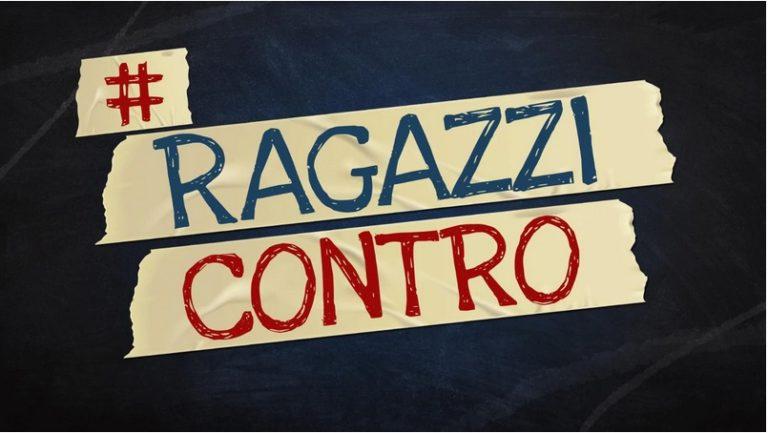 #RAGAZZICONTRO: su Rai due dal 6 novembre si discute di problemi adolescenziali