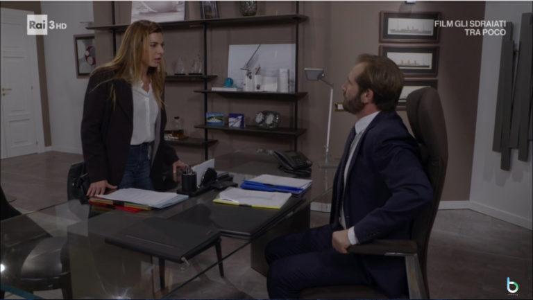 Un posto al sole, Angela contro Alberto (puntata 20 dicembre)
