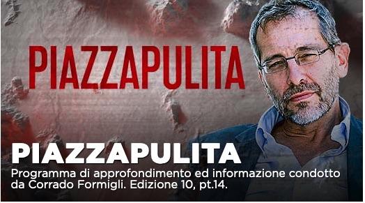 Roberto Gualtieri e Mattia Santori ospiti di Piazzapulita su La7