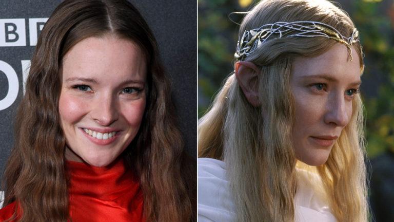 Il Signore degli Anelli: Morfydd Clark interpreterà Galadriel nella serie TV