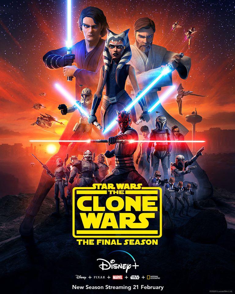 Star Wars: The Clone Wars – poster, trailer e data di uscita per la stagione finale