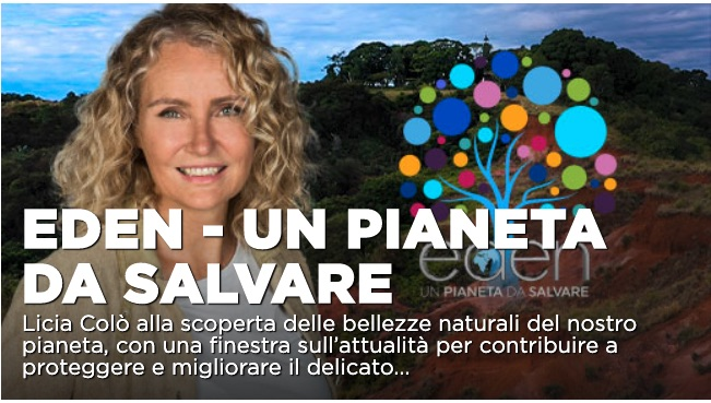 Eden – Un pianeta da salvare: reportage sul futuro dei ghiacciai su La7