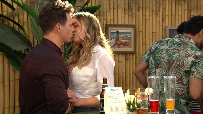 Beautiful, Flo bacia Wyatt (puntata 22 gennaio)