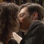 Il bacio di Prudencio e Lola